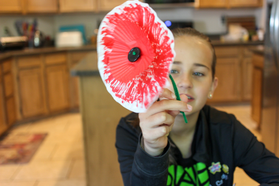 Want to teach your kids the real meaning of Memorial Day?  This simple DIY craft will make you a parenting superstar - fun and education all in one.