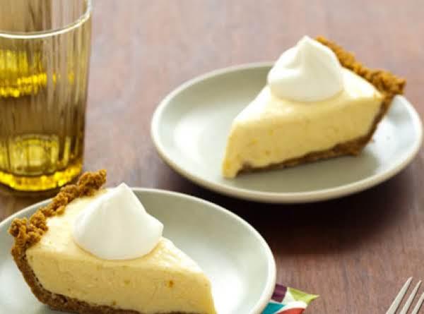 Mango Pie With Chantilly Cream Recipe