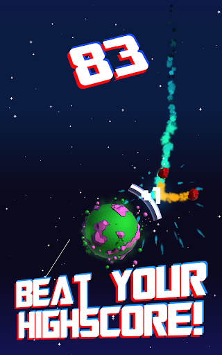 Gravity Planet Defender: Astro Catastro  captures d'écran 2