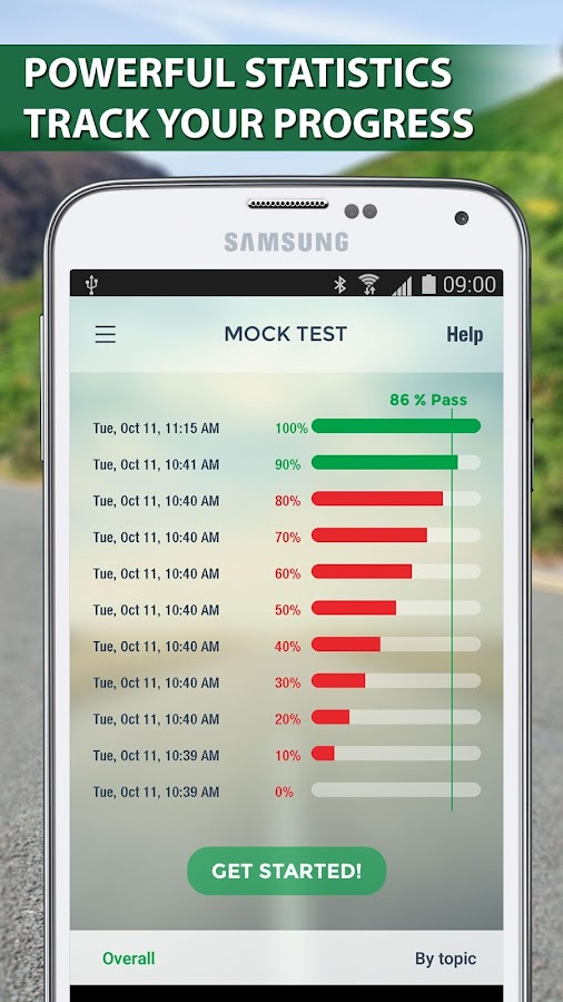 Motorcycle Theory Test- screenshot