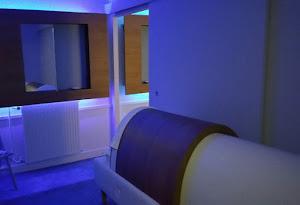 Infrarot- Sauna für Golf