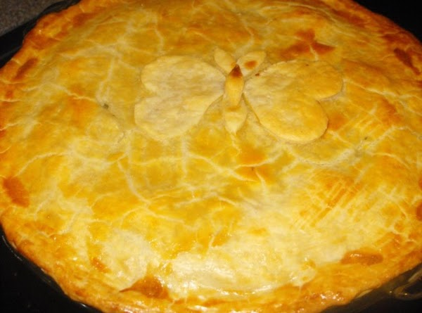 Decorative option for chicken pot pie