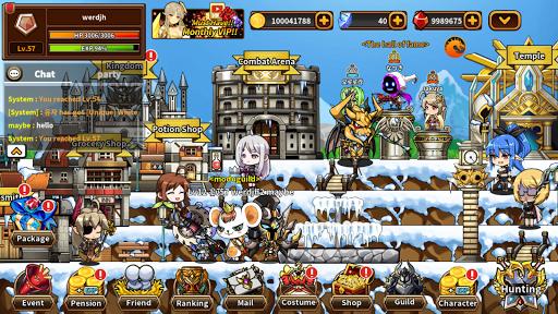 Heroes Town online : 2D MMORPG 4.10 screenshots 2