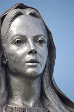 Photo: January 1: Face of Mary  I was in Santa Clara for lunch today and I went by Our Lady of Peace. I had to stop after lunch and take a photo. I had my 55-200mm lens on me. It is the first time I had this lens there. It is a hunting statue.