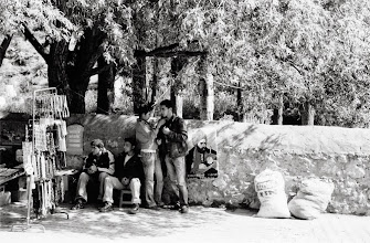 Photo: Youth in front of Ehmede Khani tomb, Bazit (Doğubayazıt in Turkish), 2007