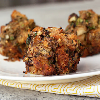 Gluten-Free Mushroom Stuffing (Vegetarian).