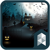 Halloween Party Launcher theme