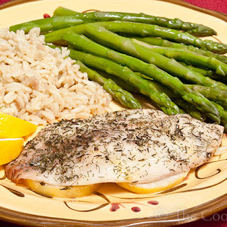 Lemon & Dill Baked Fish.