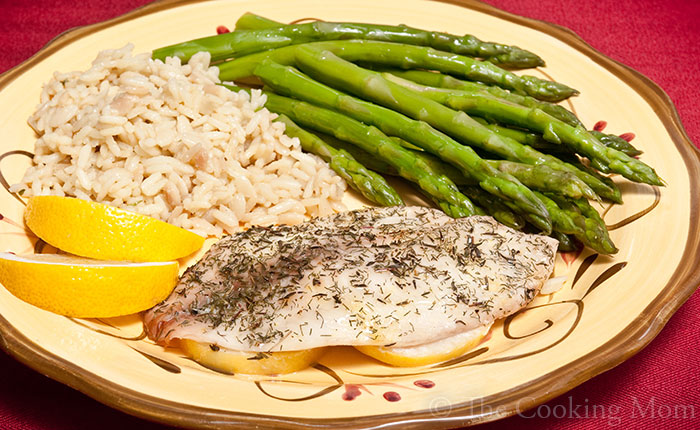 Lemon & Dill Baked Fish Recipe
