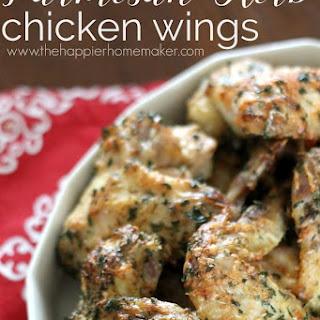 Parmesan Herb Chicken Wings