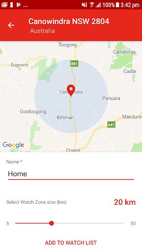 Fires Near Me NSW screenshot 2