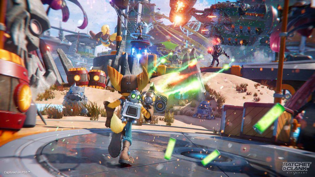 """รีวิวเกม """"Ratchet And Clank: Rift Apart"""" บนเครื่อง PlayStation 5 ที่ได้รับคำชมและกำลังมาแรงเป็นอย่างมากในตอนนี้ ! 05"""