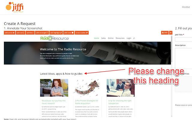Jiffi Web Help