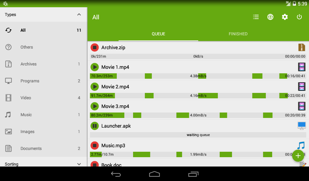 downloader android
