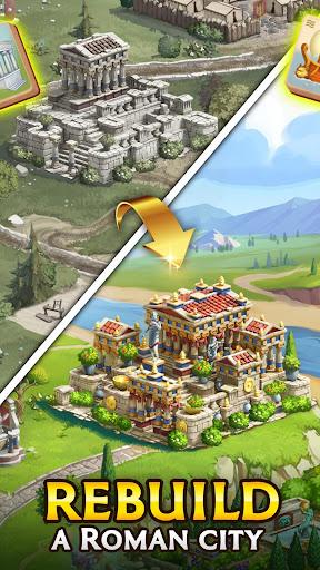 Emperor of Mahjong: Match tiles & restore a city filehippodl screenshot 4