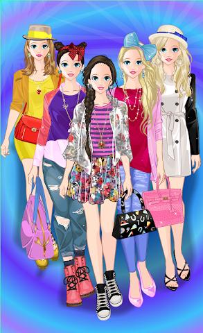 android Princess Doll Fashion Dress Up Screenshot 0