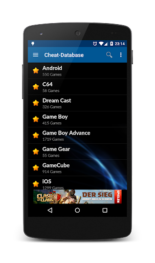Cheat-Database 2.1.9-googlePlay screenshots 2
