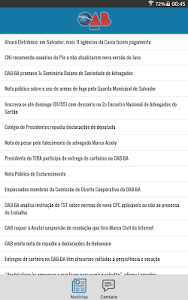 Notícias da OAB Bahia screenshot 3