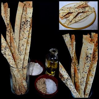 Homemade Super Seed Matzoh Sticks
