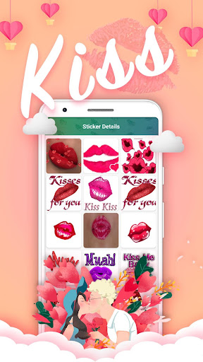 Love Roses Stickers For WhatsApp screenshot 2