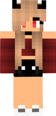 Demon Girl Minecraft Skin : demon, minecraft, Husnain, Alston:, Minecraft, Demon