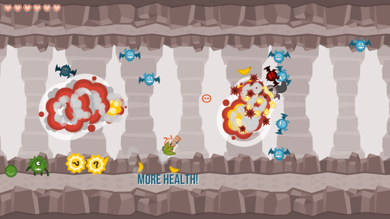 Cave Blast: Jetpack Shooting- screenshot