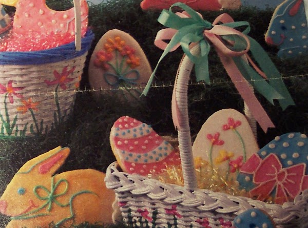 Easter Cookies,  With  Tradition Of Rabbits & Eggs Recipe