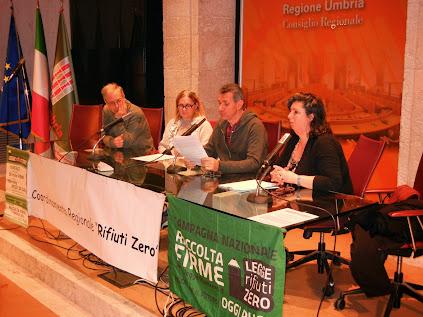 """CRURZ: Conf. Stampa """"Verso una economia circolare"""" Perugia - Sala Partecipazione - 17 GENNAIO 2015"""