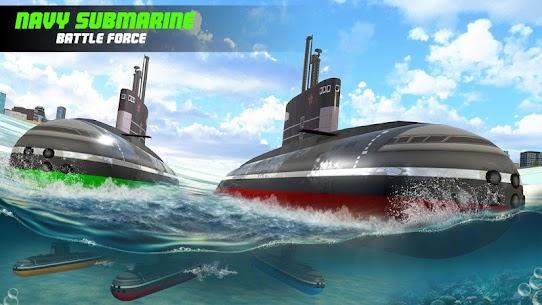 Submarine Robot Transform War: Robot Hero Games 4