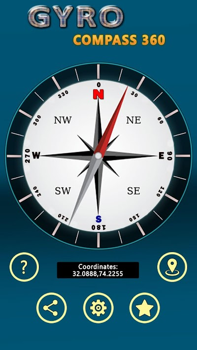 Gyro Compass App for Android: True North Direction APK Download