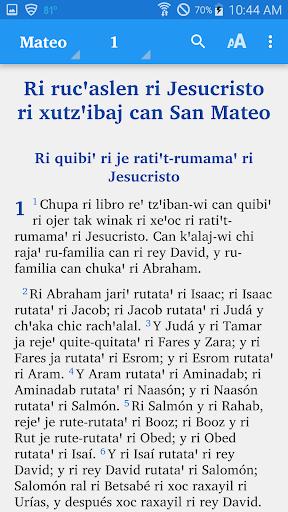 Kaqchikel Sacatepu00e9quez - Bible  screenshots 1
