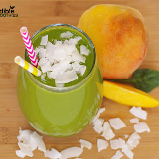 Peach Pie Green Smoothie