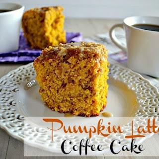Pumpkin Latte Coffee Cake Recipe