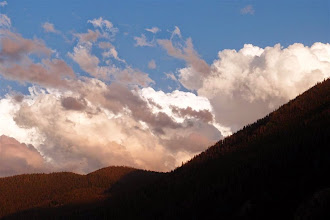 Photo: Some smoke in the air from a fire in RMNP makes for a great sunset.