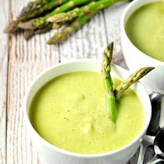 Dairy-Free Creamy Asparagus Soup.