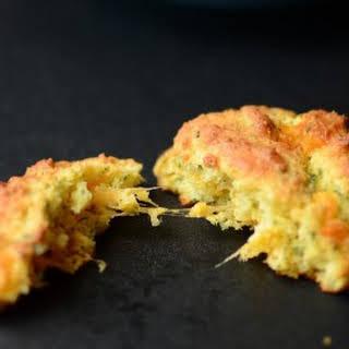 Keto Cheddar Bay Biscuits.
