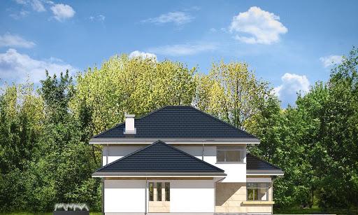 Dom z widokiem 6 B - Elewacja lewa