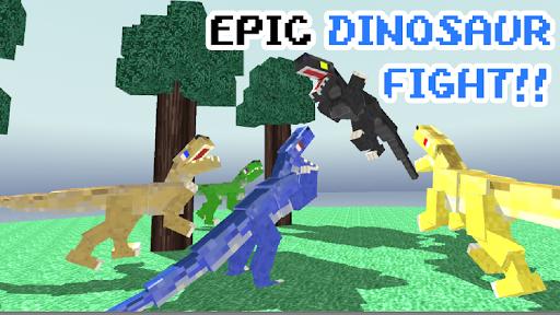 Blocky Dino Park: Raptor Attack 0.10 de.gamequotes.net 4
