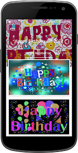 Happy Birthday Gif & Images 2017 Collection - náhled