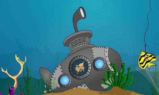 無料解谜Appの追い込まれた魚を救出|記事Game