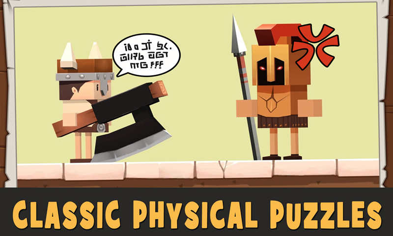 Скриншот Puzzle of Tribes