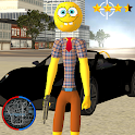 Stickman Sponge Rope Hero Gangstar Crime icon