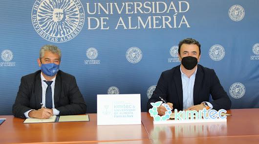 UAL y Kimitec crean una cátedra para la agricultura natural y sostenible