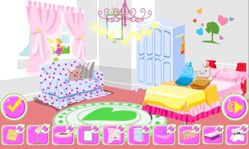 部屋の装飾のゲーム