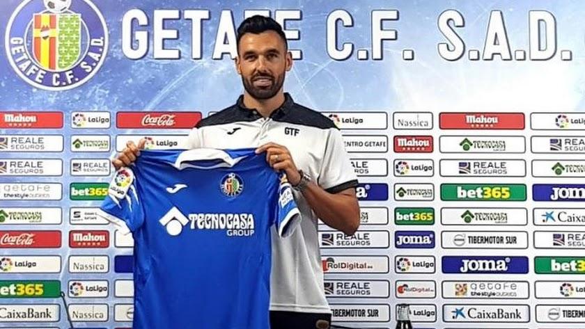 Enric Gallego saldrá cedido del Getafe.