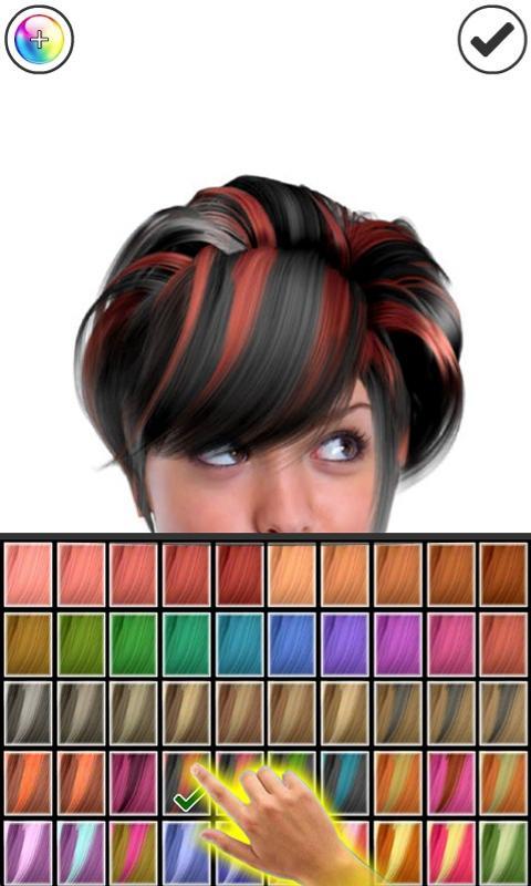Magic Mirror, Hair styler Screenshot 4