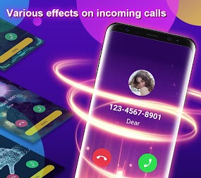 Phone Color Screen - Colorful Call Flash Themes APK screenshot thumbnail 2