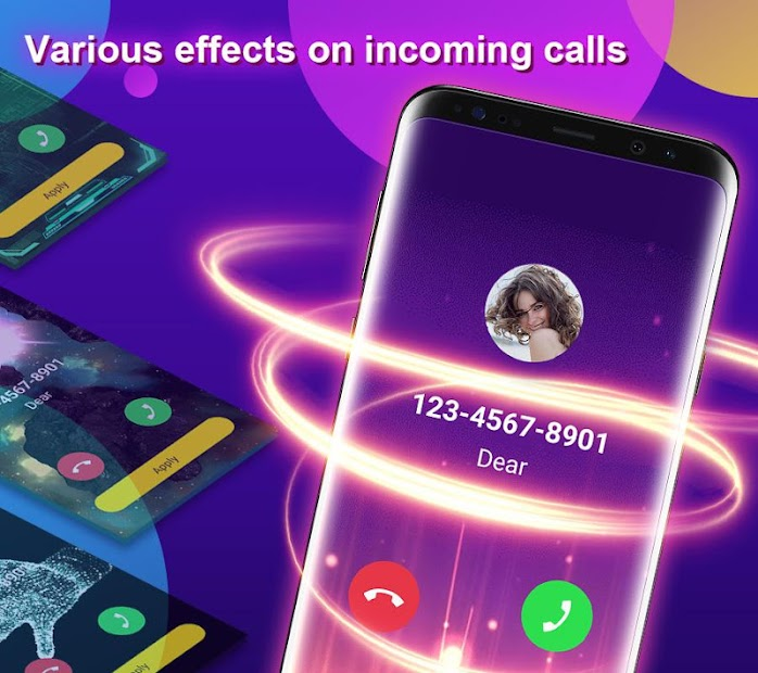 Phone Color Screen - Colorful Call Flash Themes on Google