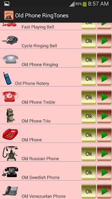 Old Phone Ringtones - screenshot