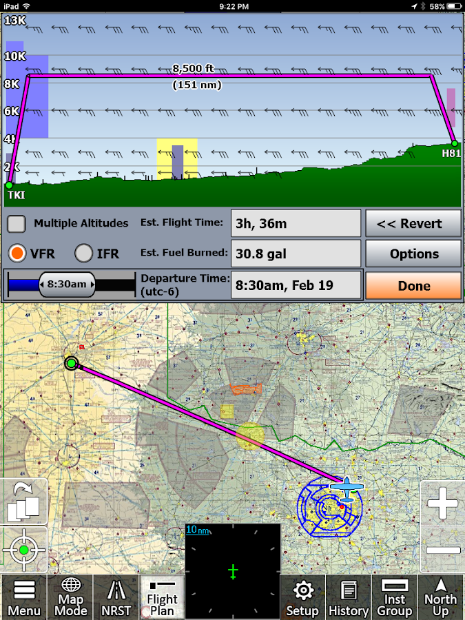 iFly GPS- screenshot